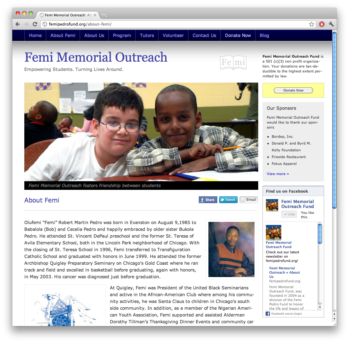 Femi Memorial Outreach Fund